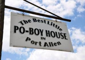 Best Little Poboy House - West Baton Rouge Louisiana